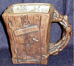 THE OUTRAGEOUS OUTHOUSE TANKARD
