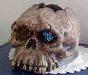 The Skull of the Daemon Rumphapithecus